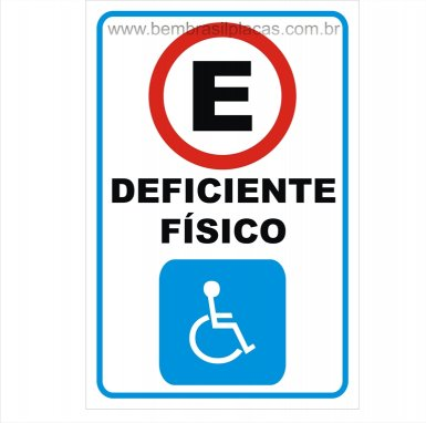 Estacionamento Exclusivo Deficiente Físico