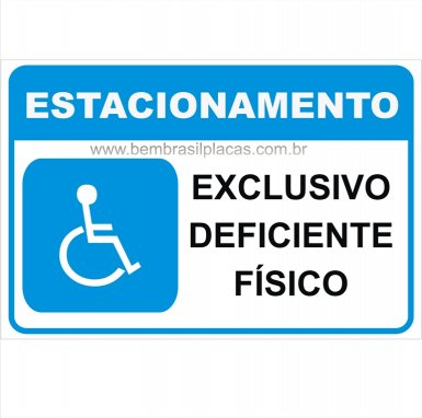 Estacionamento Deficiente Físico
